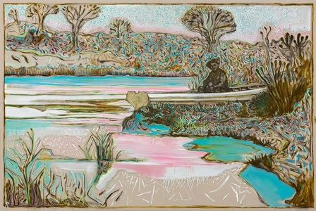 river garden, Kroonstad 1901 (version)