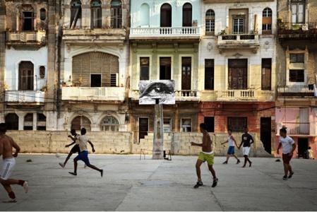 The Wrinkles of the City, La Havana, Nidia Mulet Rojas, (artwork by JR, project by JR & José Parlá), Cuba