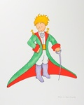 The Little Prince In His Suit