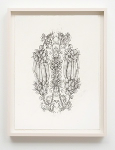 Untitled (Rorschach Flowers 1)