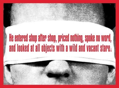 Untitled (He entered shop after shop)