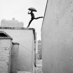 Reed Leaping Over Rooftop, New York, New York