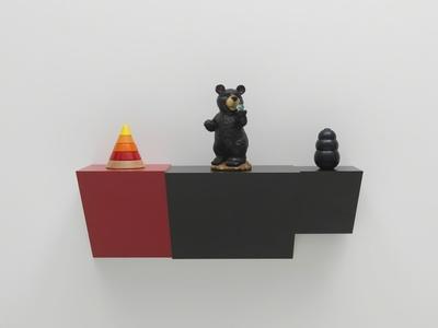 Untitled (cone, bear, kong)