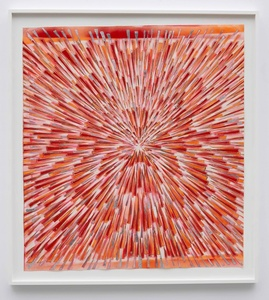 Inversion visions (Red, fluorescent red, pink, gold and silver)