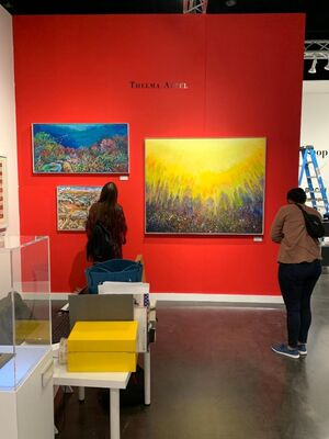 Alpha 137 Gallery at Texas Contemporary 2019, installation view
