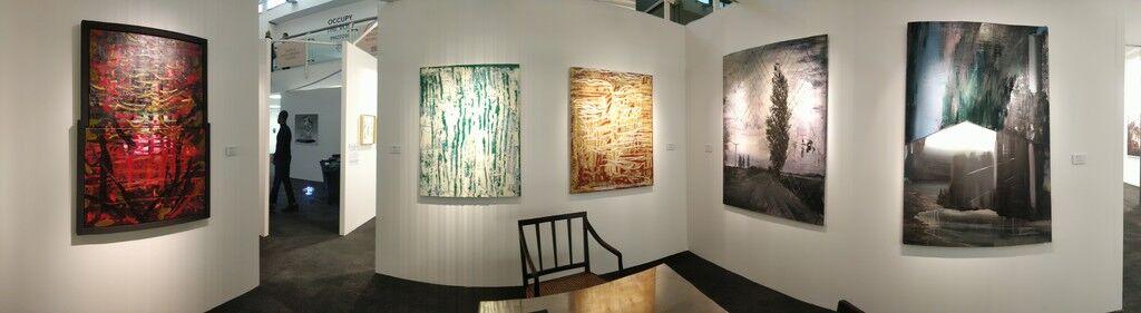 Aleph Contemporary  at London Art Fair 2020, installation view