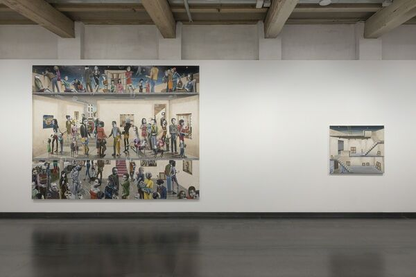 Gino Rubert, The place to be or not to be, installation view
