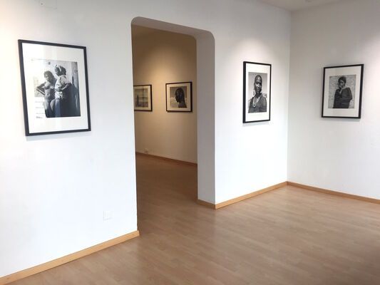 Portraits in Africa 1949 - 1953, installation view
