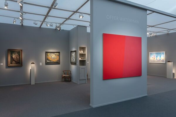 Offer Waterman  at Frieze Masters 2016, installation view