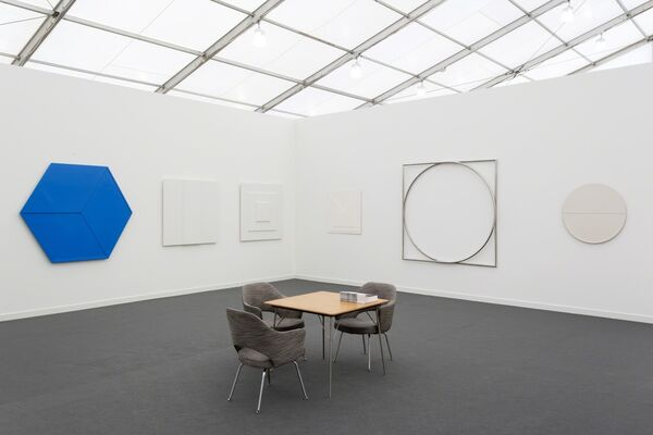 BorzoGallery at Frieze New York 2019, installation view