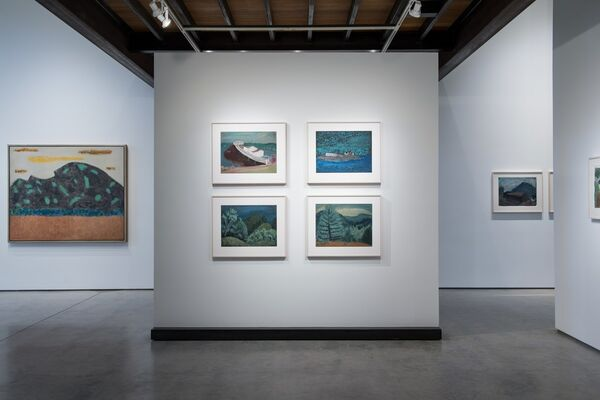 Milton Avery - Early Works on Paper + Late Paintings, installation view