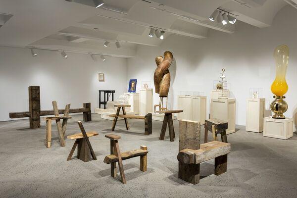 """Atalaya"" A project by Nicolás Aracena Müller, installation view"