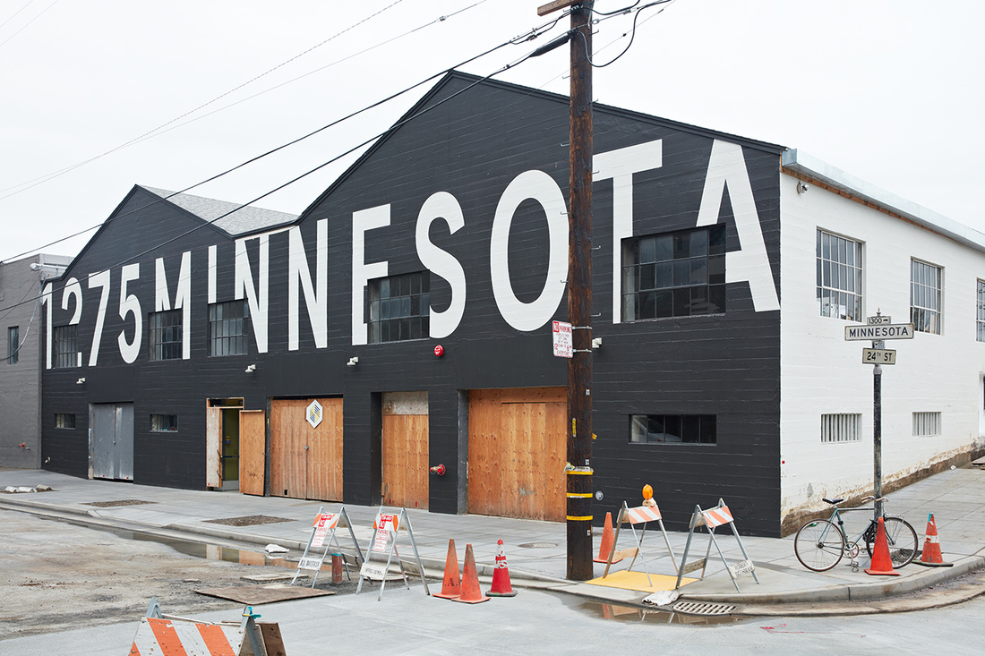 Exterior view of Minnesota Street Projects. Photo courtesy of Minnesota Street Projects.