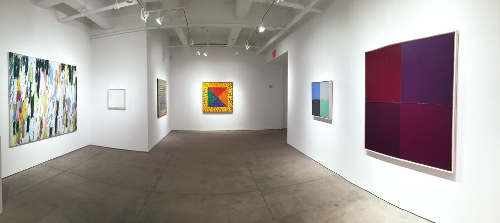 "Installation view of ""Kazko Inoue: Thirty Years of Painting,"" Allan Stone Projects, New York. Courtesy Allan Stone Projects"