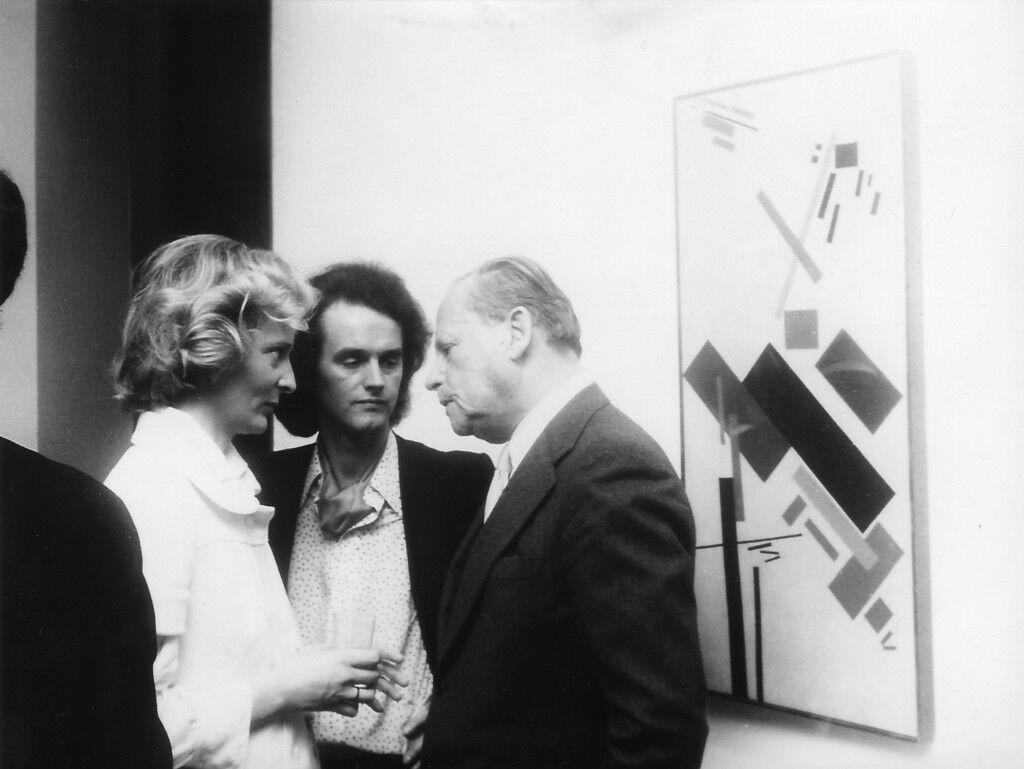 Hete Hünermann, Hans Mayer & Gustav Stein (Galerie Hans Mayer), 1975, courtesy of Galerie Hans Mayer