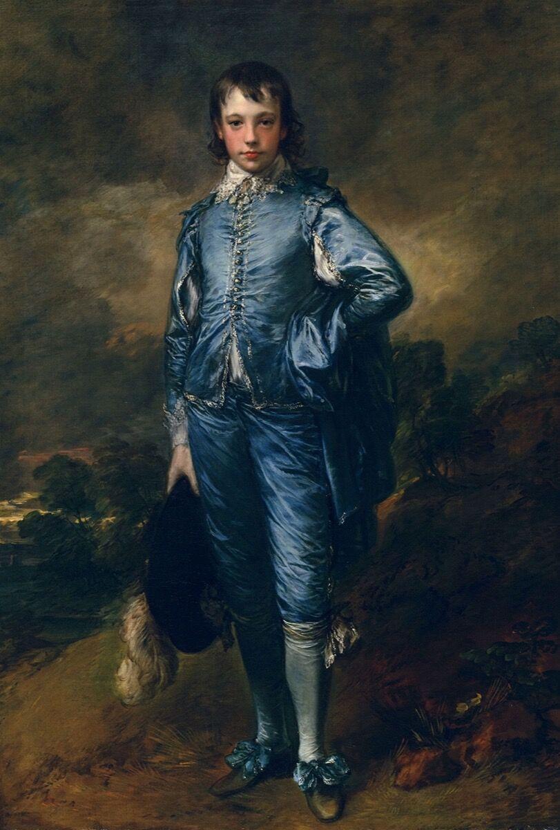 Thomas Gainsborough, The Blue Boy, c. 1770. Photo via Wikimedia Commons.