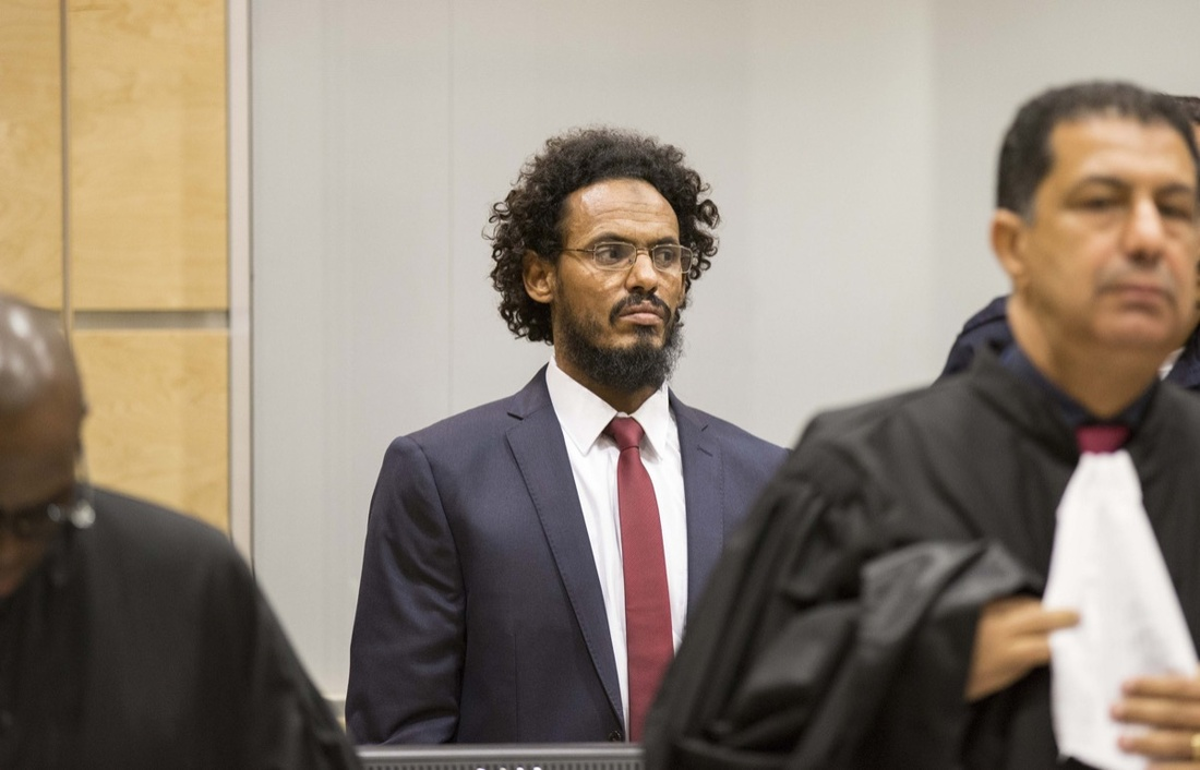 Ahmad al-Faqi al-Mahdi appears before the International Criminal Court.