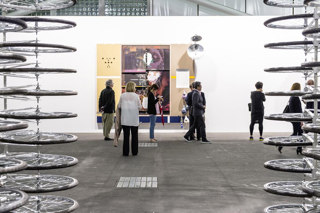 Installation view Art Unlimited 2015. Photo© Art Basel.