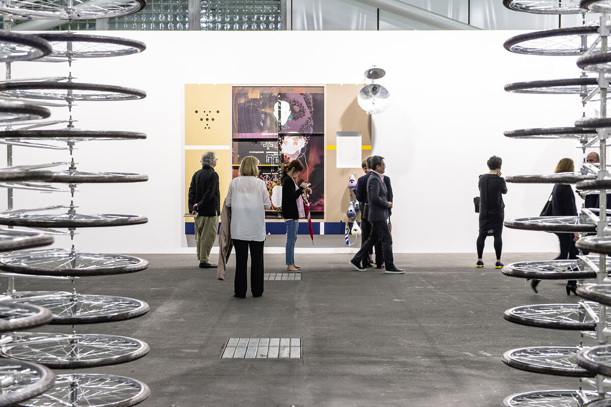 Installation view Art Unlimited 2015. Photo © Art Basel.