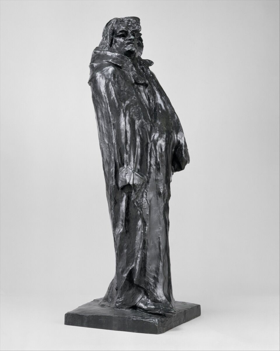 Auguste Rodin, Final Study for the Monument to Balzac, modeled 1897, cast 1972. Photo via The Metropolitan Museum of Art.