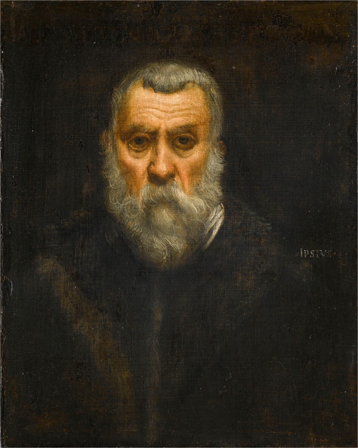 Jacopo Tintoretto, Self-Portrait, c. 1588. © RMN-Grand Palais / Art Resource, NY, Jean Gilles-Berizzi. Courtesy of the National Gallery of Art.