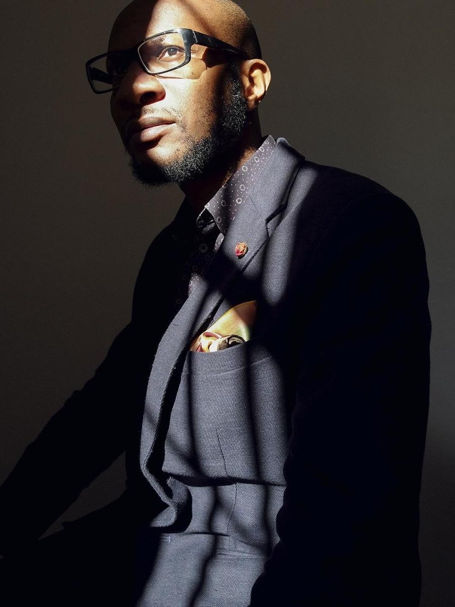 Portrait of Teju Cole by Christopher Anderson. Image via Teju Cole.