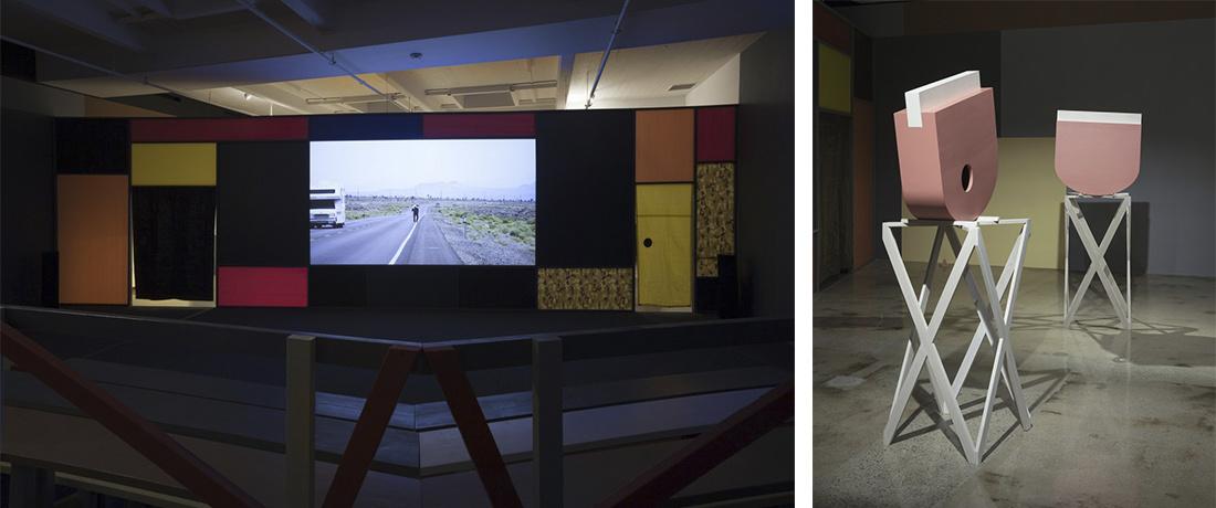 """Installation view """"Desert,"""" 2015. Courtesy Steve Turner, Los Angeles."""