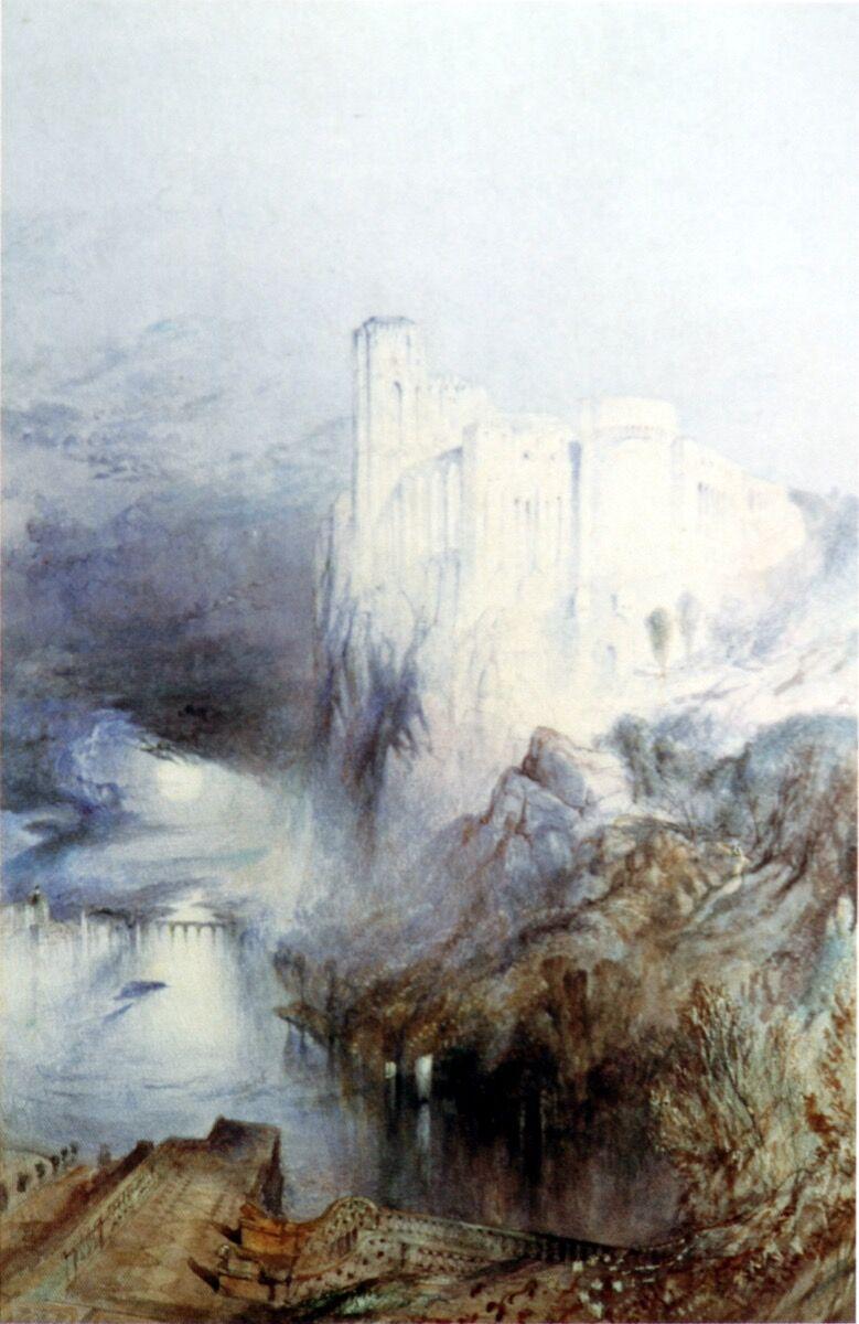 John Ruskin, Amboise, 1841. Image via Wikimedia Commons.