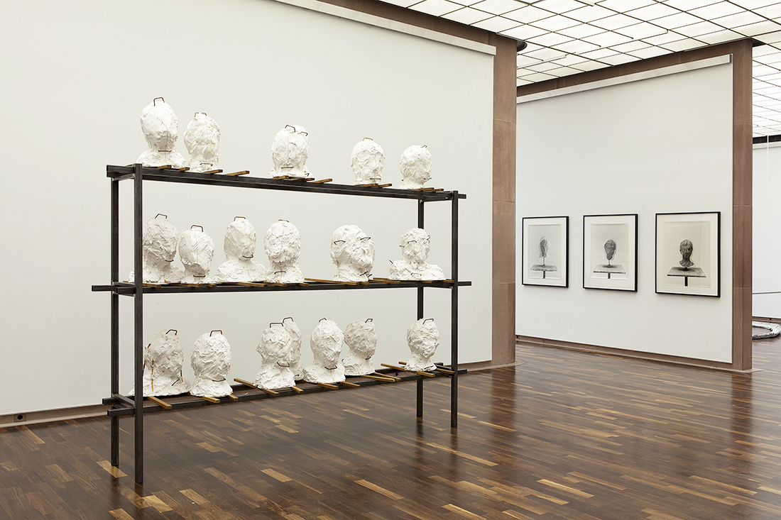 Johannes Wald, Studying the Greeks' Grace, 2010. Installation view Kunsthalle Bielefeld 2015. Photo: Ingo Bustorf.