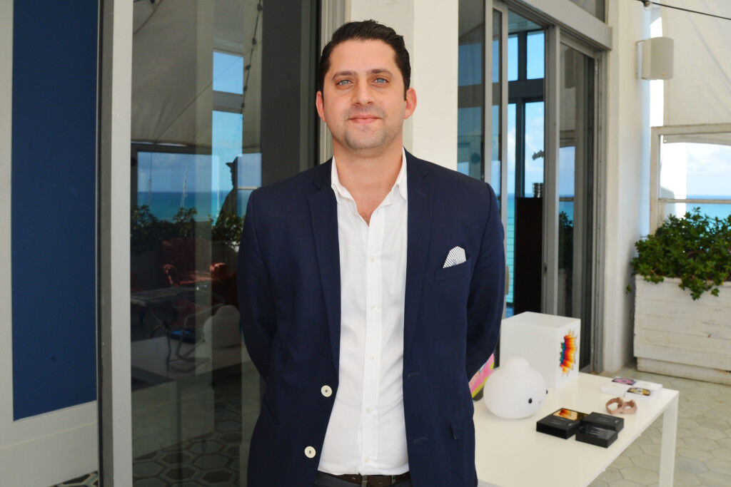 Heritage Auctions's Director of Modern and Contemporary Art Leon Benrimon. Photo courtesy of Heritage Auctions.