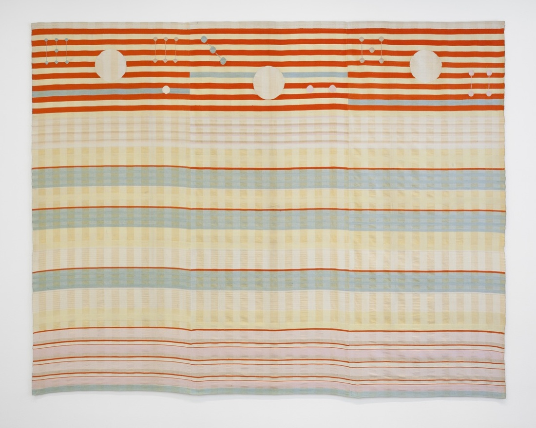 Benita Koch-Otte, Woven Wall Hanging, 1923-24. Manufactured by Bauhaus Weaving Workshops, Weimar. Courtesy of The Museum of Modern Art, NY.