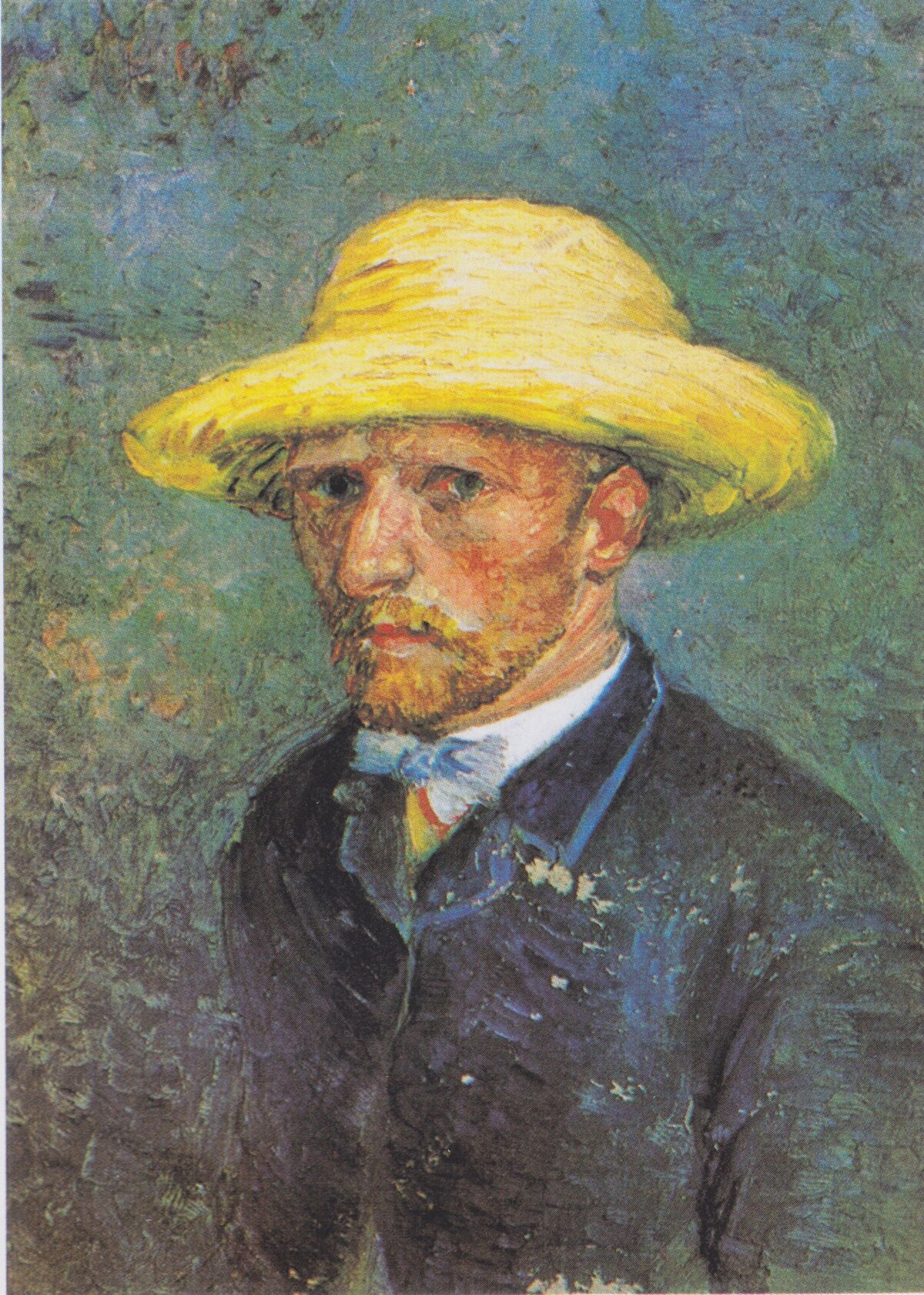 Vincent van Gogh, Portrait of Theo van Gogh, 1887. Photo via Wikimedia Commons.