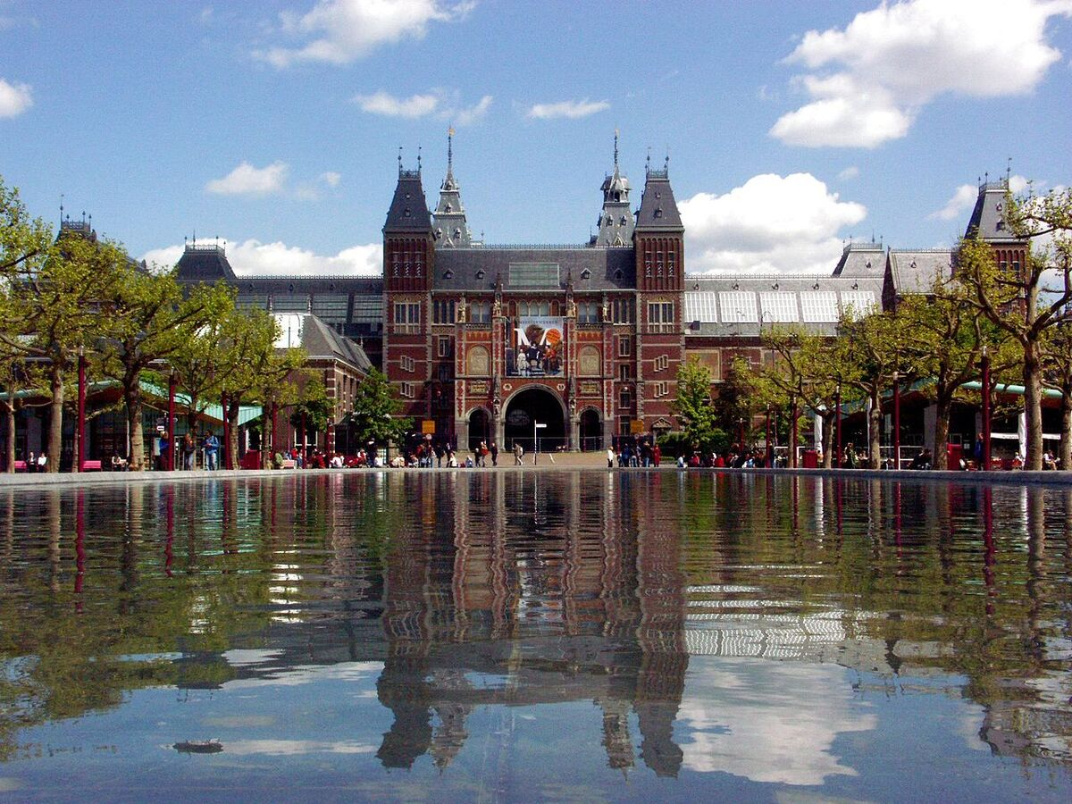 The Rijksmuseum in Amsterdam. Photo by Voytikof, via Wikimedia Commons