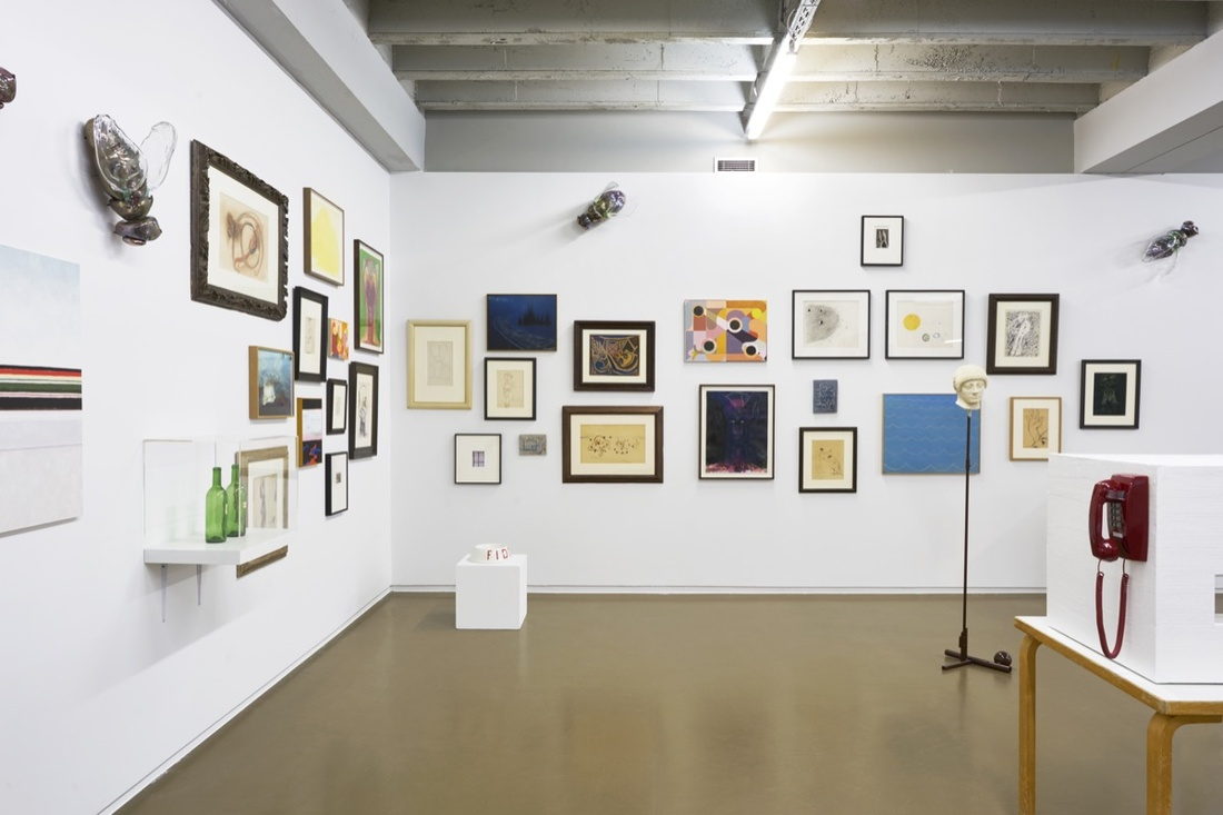 Installation view of C L E A R I N G and Galerie 1900-2000's booth at Independent Brussels, 2017. Courtesy of C L E A R I N G.