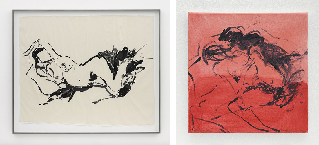 """""""Tracey Emin: I Cried Because I Love You,"""" at White Cube, Hong Kong. © Tracey Emin. All rights reserved, DACS 2016. Photo © White Cube Courtesy Lehmann Maupin and White Cube."""