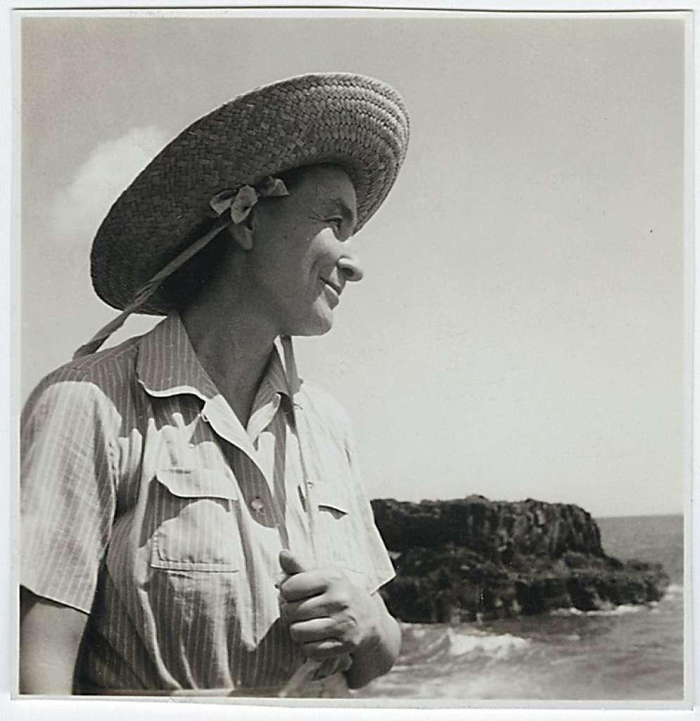 Portrait of Georgia O'Keeffe in Hawaii, 1939. Via Wikimedia Commons.