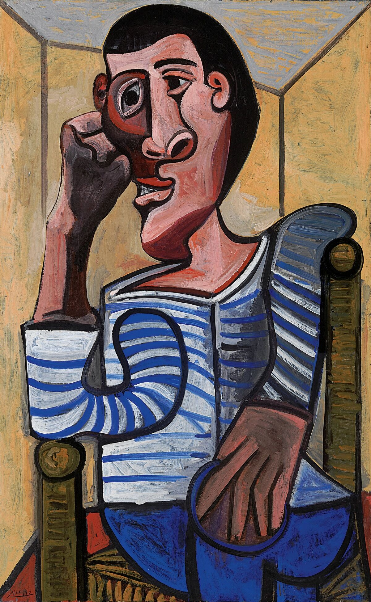 Pablo Picasso, Le Marin, 1943. © Estate of Pablo Picasso / Artists Rights Society (ARS), New York. Courtesy of Christie's.