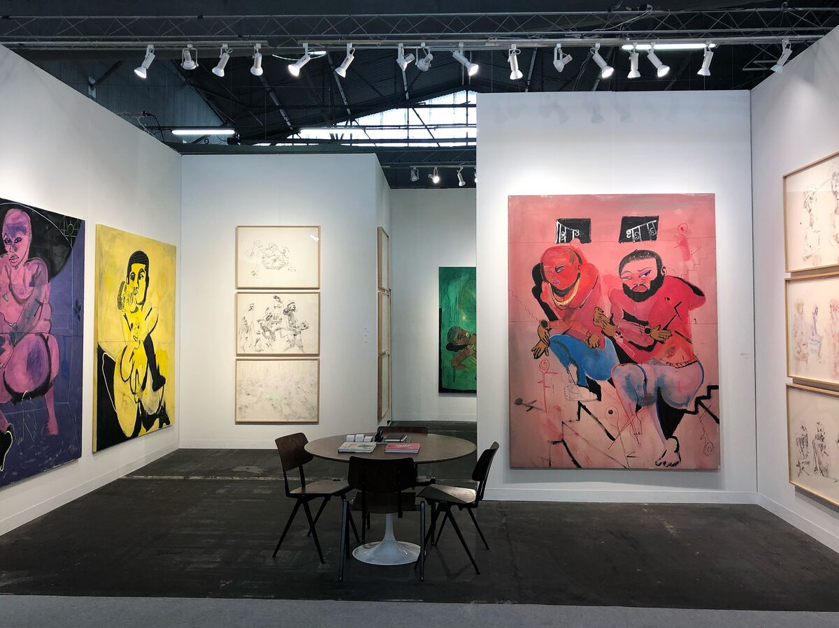 Installation view of Kohn Gallery's booth at The Armory Show, New York, 2019. Courtesy of Kohn Gallery.
