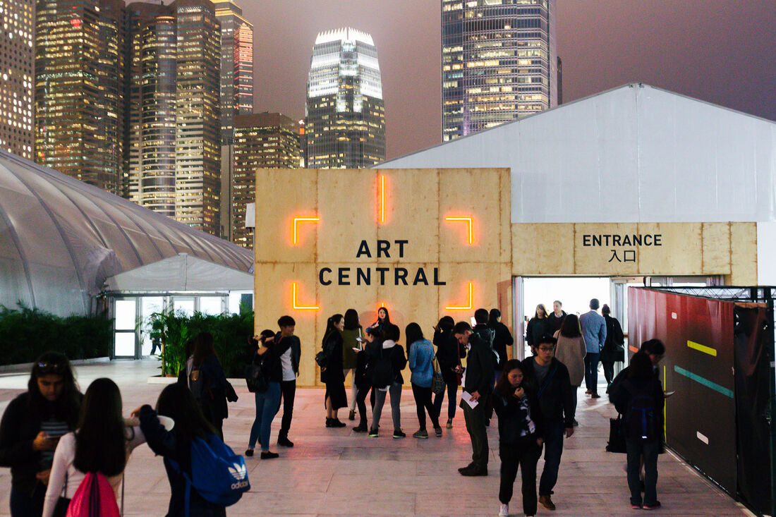 Art Central 2016 Fair View © Art Central