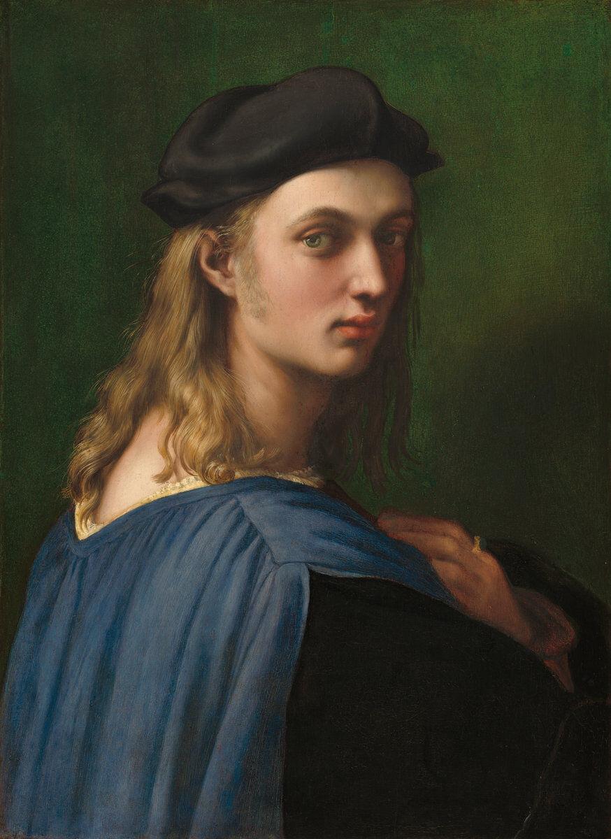 Raphael,  Bindo Altoviti,  1515. Courtesy of the National Gallery of Art.