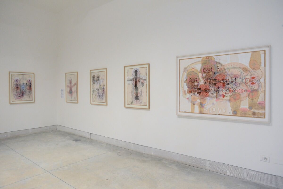 "Installation view of work by Luboš Plný in ""Viva Arte Viva"" at the 57th Venice Biennale, 2017. Photo by Casey Kelbaugh for Artsy."