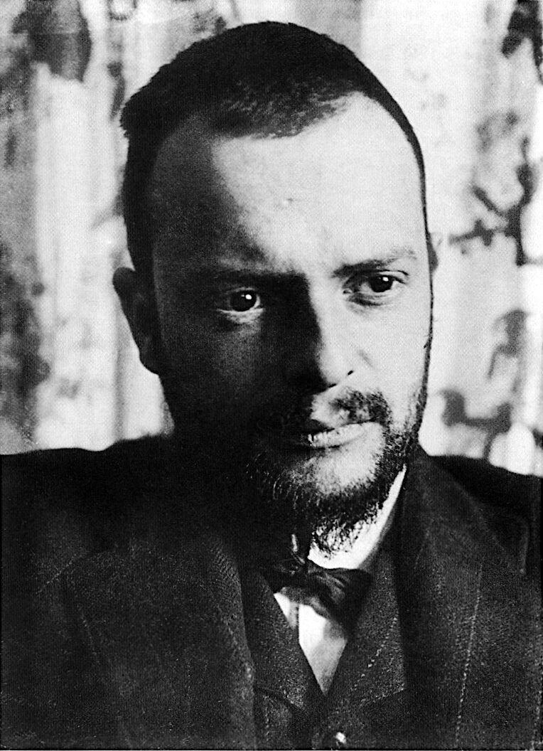 Portrait of Paul Klee, via Wikimedia Commons.