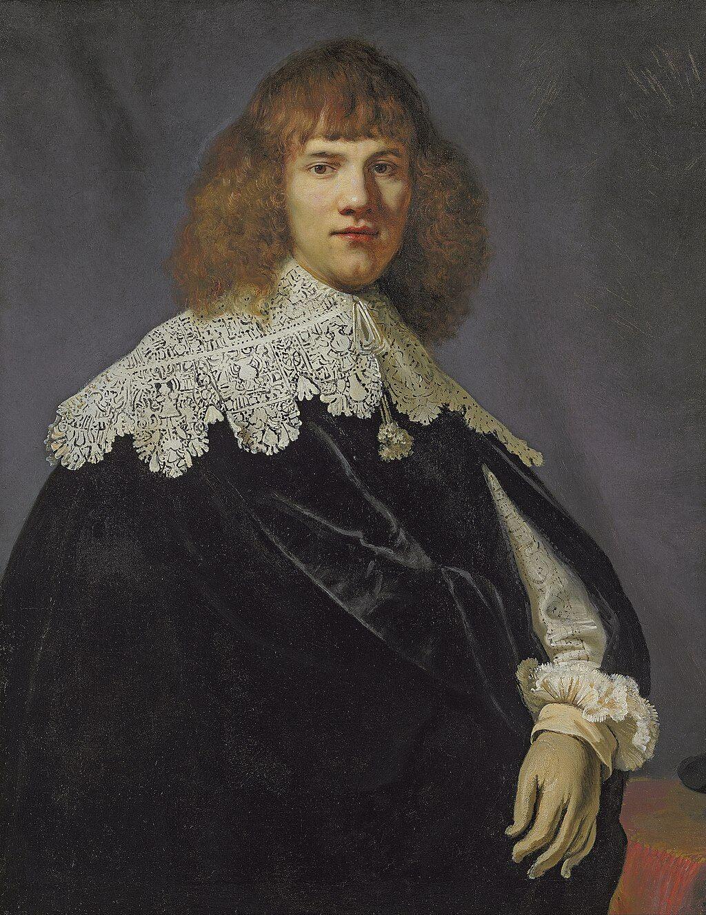 Rembrandt van Rijn, Portrait of a Young Gentleman, ca. 1606–69. Image via Wikimedia Commons.
