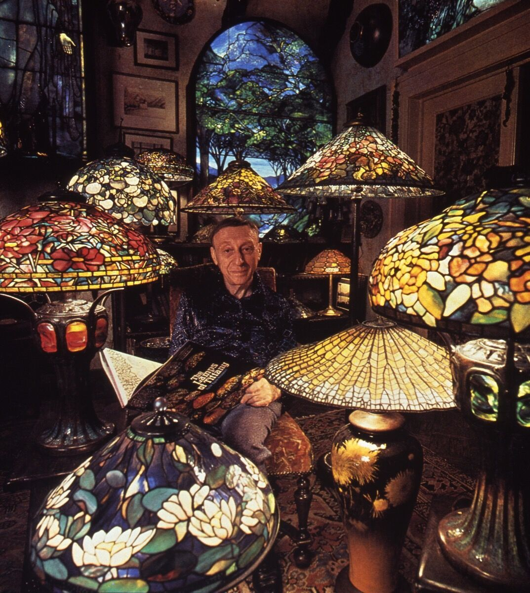 Egon Neustadt, American Heritage Society. Courtesy of the Neustadt Collection of Tiffany Glass.