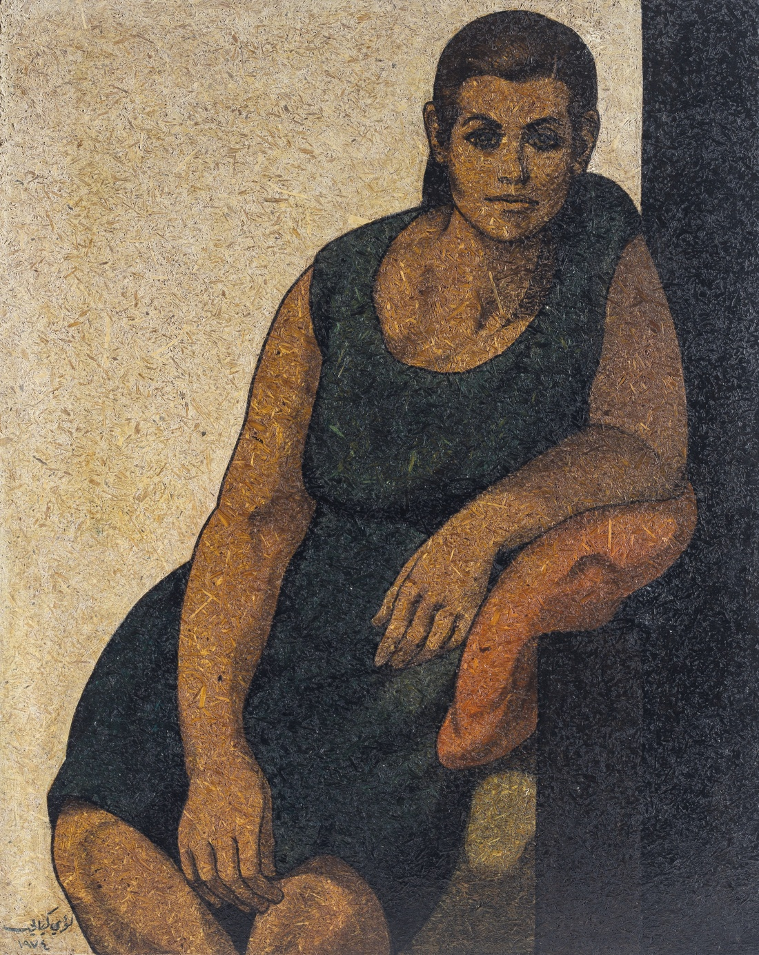 Louay Kayyali,Untitled(1984; est.$60,000-80,000).Image courtesyChristie's.