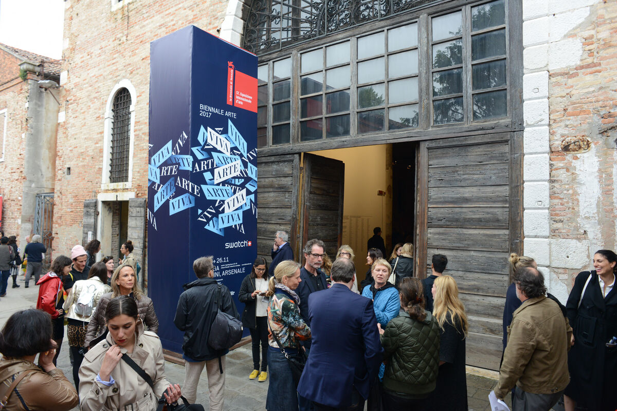 The 57th Venice Biennale, 2017. Photo by Casey Kelbaugh for Artsy.