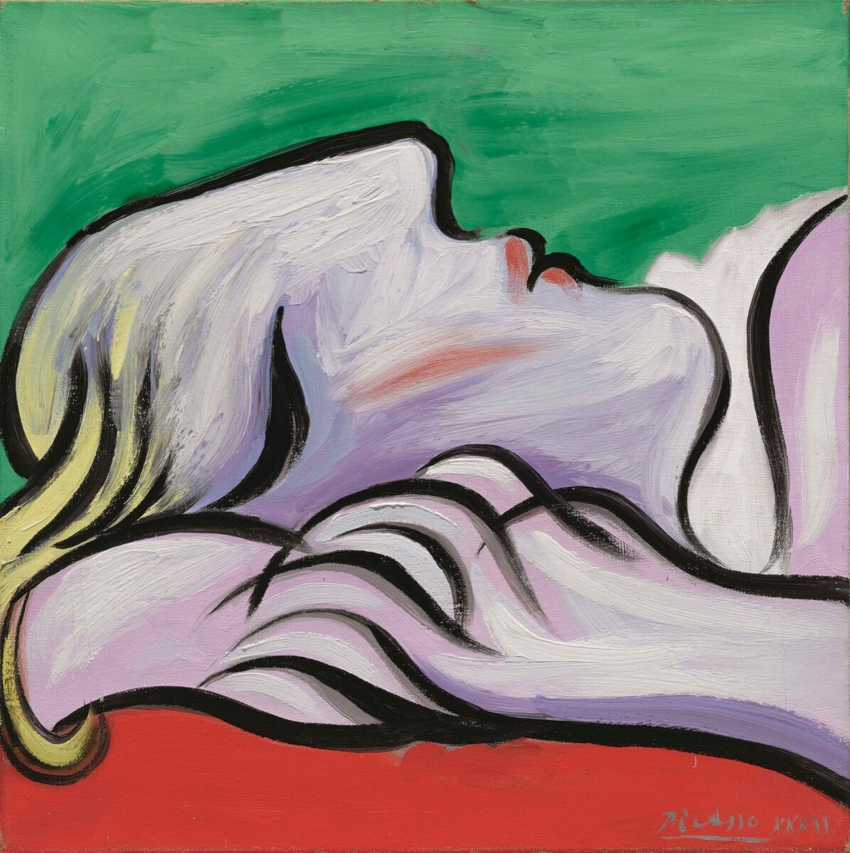 Pablo Picasso, Le repos, 1932. Courtesy of Sotheby's.
