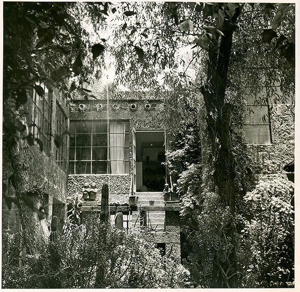 Casa Azul. Courtesy of Museo Frida Kahlo.