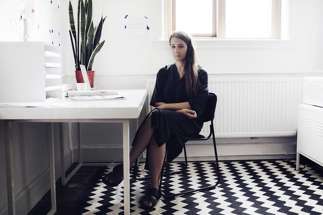 Portrait of Kate Cooperby Elliot Kennedy for Artsy.
