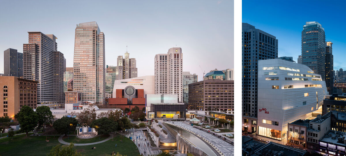 Snøhetta expansion of the new SFMOMA, opening May 14, 2016. Photos © Henrik Kam, courtesy of SFMOMA.